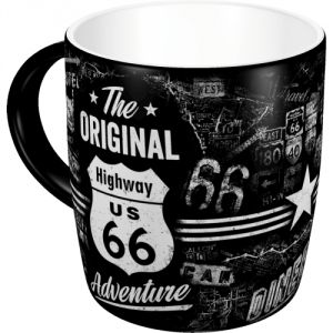 Tazza in ceramica Route 66