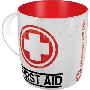 Tazza in ceramica First Aid