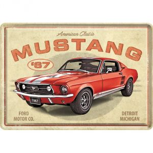 10326 Ford Mustang - GT 1967 Red