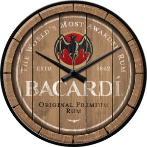 51201 Bacardi - Wood Barrel Logo