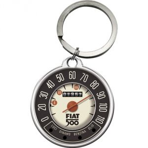 48037 Portachiavi Fiat 500 - Tacho