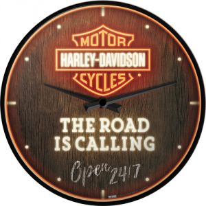 51202 Harley Davidson - Road is Calling Neon