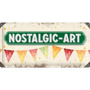 99028 Pannello 25 x 50 Nostalgic Art Logo
