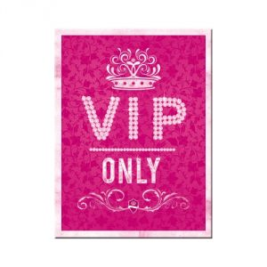 Magnete Vip Only - pink