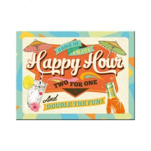 Magnete Happy Hours