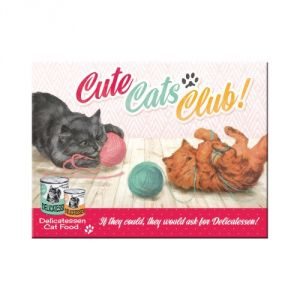 Magnete Cute Cats Club