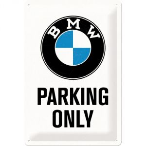 Cartello BMW Parking