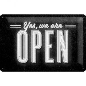 Cartello Open