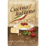 Cartello Cucina italiana