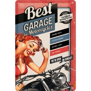 Cartello Best Garage