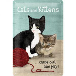 Cartello Cats & Kittens