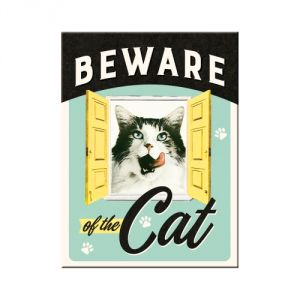 Magnete Beware of the Cat