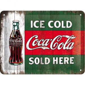 Cartello Coca Cola