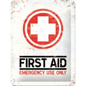 Cartello First Aid