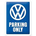 Cartello Volkswagen Parking