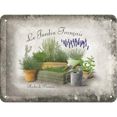 Cartello le jardin francais Le jardin francais