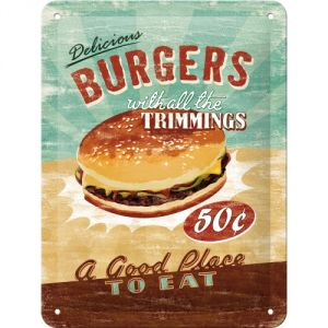 Cartello Burgers