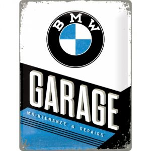 Cartello BMW Garage