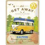 Cartello Volkswagen Get Away