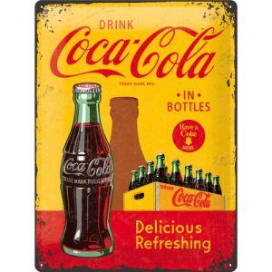 23195 Coca Cola - In Bottles Yellow