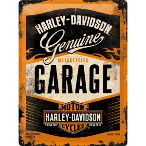 Cartello Harley Davidson Garage