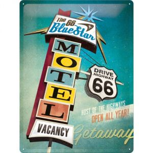 Cartello Route 66 Motel