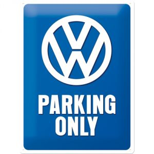 Cartello Volkswagen Parking