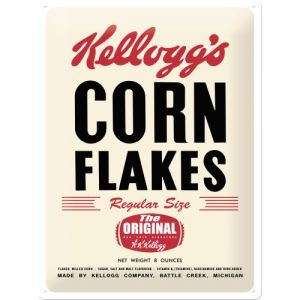 Cartello Kelloggs
