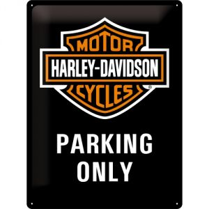Cartello Harley Davidson Parking