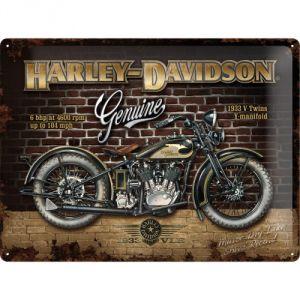 23124 Harley Davidson - Brick Wall