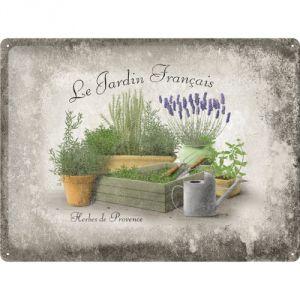 Cartello Jardin Francais