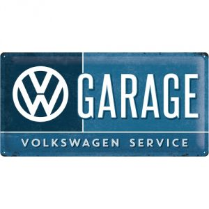 Cartello Volkswagen Garage