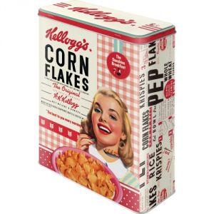 Kellogg's - Girl Corn Flakes Collage