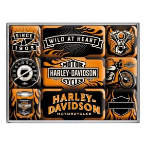 Harley Davidson Wild at Hearth