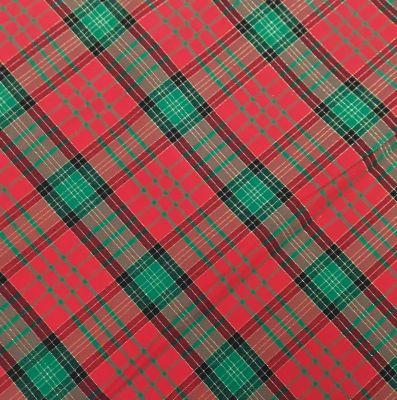 Tovaglia scozzese lurex