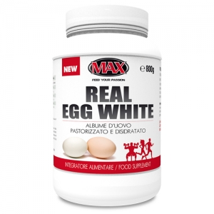 MAX NUTRITION REAL EGG WHITE 800GR
