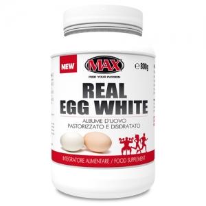 MAX NUTRITION REAL EGG WHITE 800GR