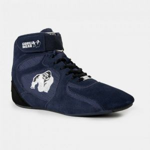 GORILLA WEAR CHICAGO HIGH TOPS - BLU MARINO LIMITED EDITION TG:41