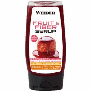 WEIDER FRUIT & FIBER SYRUP 350GR