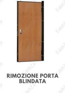 Rimozione porta blindata Roma