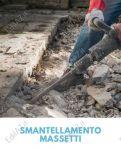 Smantellamenti, demolizioni massetti Roma