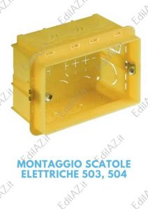 Montaggio/posa scatole elettriche piccole Roma