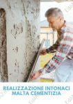 Realizzazione intonaco malta cementizia Roma