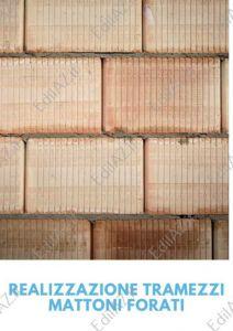 Realizzazione tramezzi mattoni forati Roma, spessore 12 cm