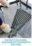 Rifacimento, ristrutturazione pavimento balcone Roma