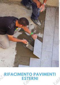 Rifacimenti, ristrutturazioni pavimenti esterni Roma