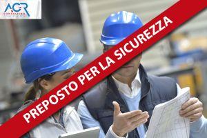 Preposto Per La Sicurezza Sul Lavoro