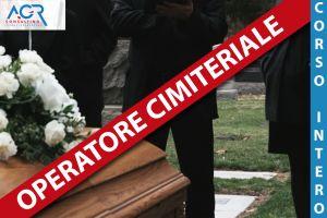 Operatore Addetto Alle Operazioni Cimiteriali E Di Sepoltura - Corso Intero