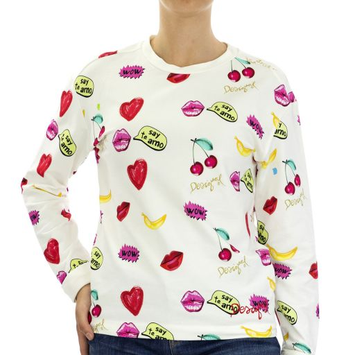 Knitted Sweat Long Sleeve