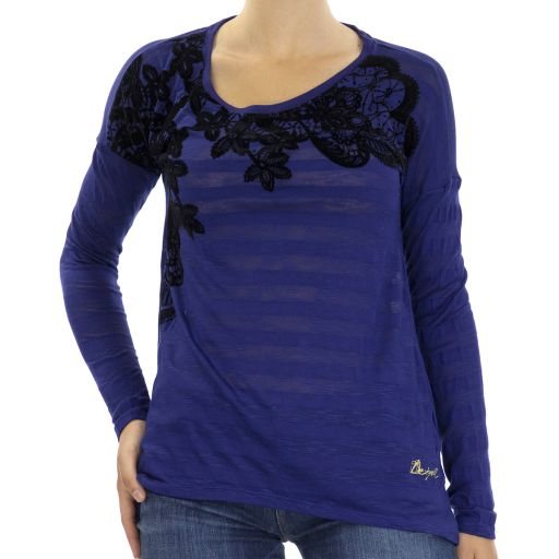 Knitted T-Shirt Long Sleeve
